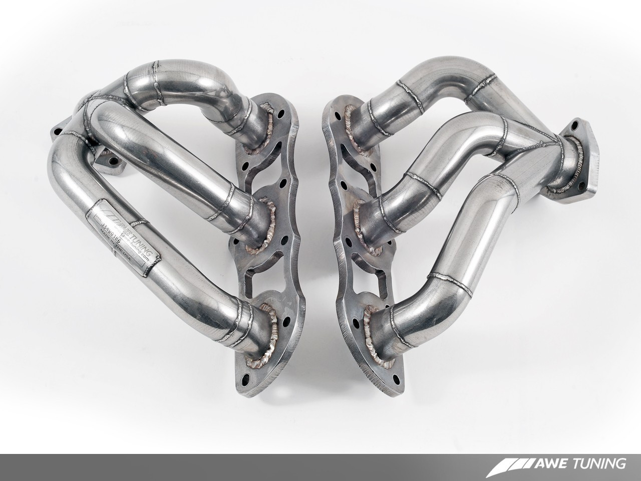 AWE Tuning Performance Header Set for 911 Porsche 997 2TT