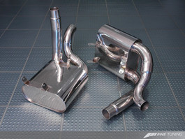 AWE Tuning Performance Muffler Set (for use with OEM tips or AWE Tuning tips) for Porsche 997/997S