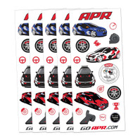APR Die Cut Sticker Sheets - Set of 5 (APR16K-PKA56)