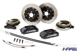 HPA High Performance 4-Piston Rear Brake Kit for Mk4 VW GTI, GLI, Golf R