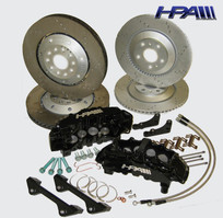 HPA Extreme Performance 8-Piston Full Brake Kit for Mk5 VW R32/Golf R (HVA-208)