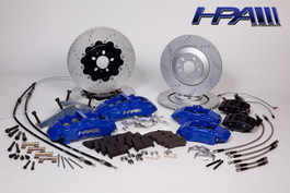 HPA Extreme Performance 8-Piston Full Brake Kit for Mk4 VW R32/Golf R (HVA-205)
