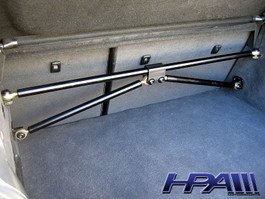 HPA Rear Strut Tie Bar for VW Mk4 R32 (HVW-805)