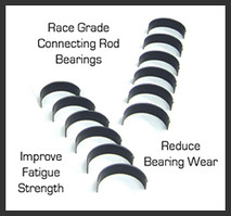 HPA Race Grade Connecting Rod Bearing Set (HVA-510)