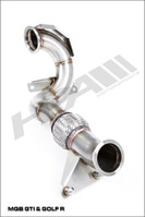 HPA Cat-less Downpipe for Mk7 VW Golf R