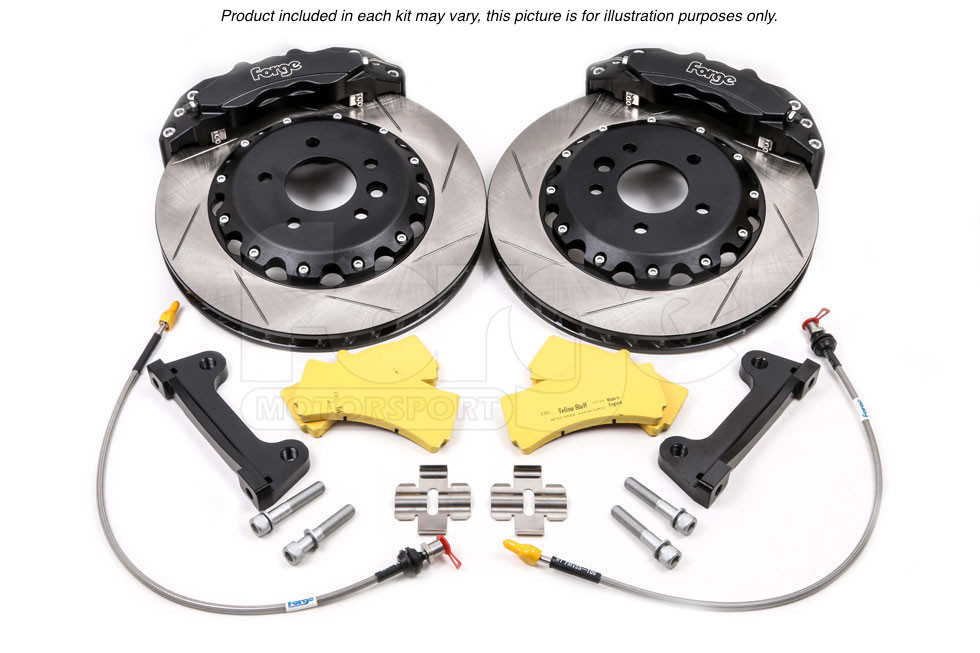 Forge Front 6 Piston Big Brake Kit for VAG 1 8T, 330 x 32mm Ventilated Disc