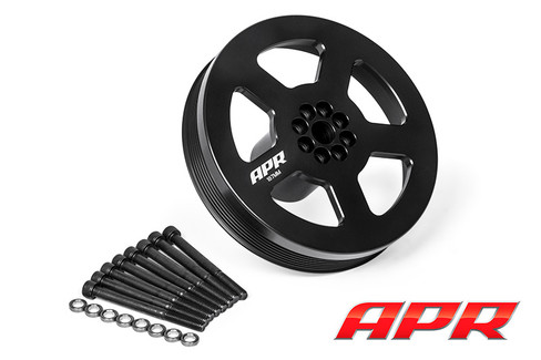 APR Supercharger Crank Pulley (187 mm) For Audi 3.0 TFSI Supercharged (MS100133)