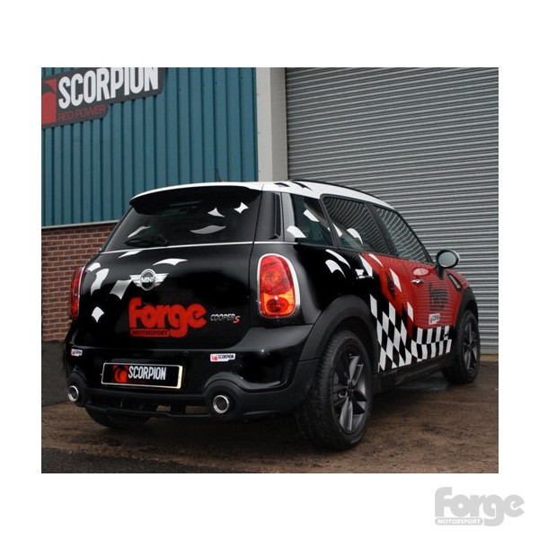 Forge Performance Cat Back Exhaust For R60 Mini Countrymancooper S