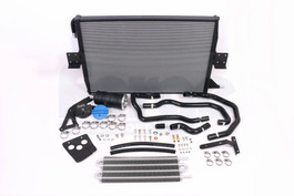 Forge Charge Cooler Radiator & Expansion Tank kit for Audi S4 / S5 B8 3.0TFSI, w/ Single Factory Chargecooler (FMCCRAD3)