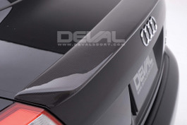 Deval Trunk Spoiler (FRP Version) for 2002-5 Audi A4 B6 (D2523S5)  Note: Carbon Fiber version shown for reference only.