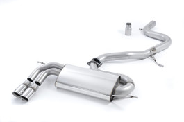 Milltek Sport Non-Resonated Catback Exhaust for Audi A3 8P 2.0T 2WD | VW MKV GTI (SSXVW265)