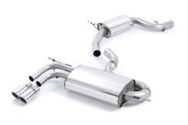 Milltek Sport Resonated Catback Exhaust for Audi A3 8P 2.0T 2WD | VW MKV GTI (SSXVW266)