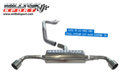 Milltek Cat-Back Exhaust for Audi TT Mk2 2.0 TFSI 2WD (SSXAU143)