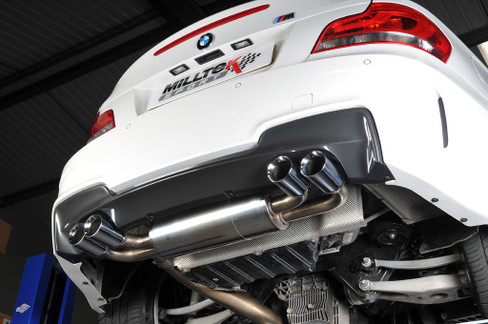 Milltek Secondary Cat-Back Resonated Exhaust for BMW M Coupe E82 (SSXBM938)