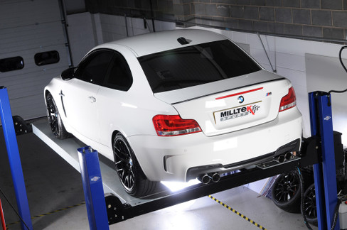 Milltek Secondary Non-Resonated (louder) Cat-Back Exhaust for BMW 1 Series M Coupé (E82) (SSXBM942)