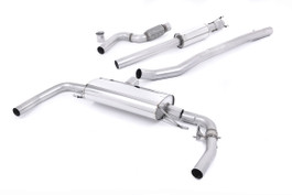 Milltek Cat-Back Resonated Valved Exhaust for Mercedes CLA-Class CLA45 AMG 2.0 Turbo (SSXMZ110)