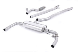 Milltek Cat-Back Non-Resonated Valved Exhaust for Mercedes CLA-Class CLA45 AMG 2.0 Turbo (SSXMZ111)