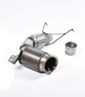 Milltek Large-bore Downpipe and Hi-Flow Sports Cat for 2014+ F56 Mini Cooper S 2.0 Turbo (SSXM429)