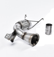 Milltek Large-Bore Downpipe and De-Cat for F56 Mini Cooper S 2.0 Turbo, UK/Euro (SSXM426)