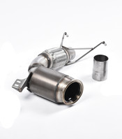 Milltek Large-Bore Downpipe and HI-Flow Sports Cat for F56 Mini Cooper S 2.0 Turbo, UK/Euro (SSXM427)