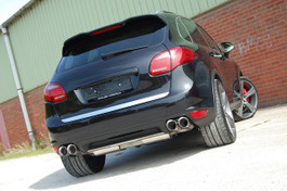 Milltek Non-Resonated Cat Back Exhaust, Cup-Style for Porsche Porsche Cayenne 958 Turbo 4.8 V8 (SSXPO110)