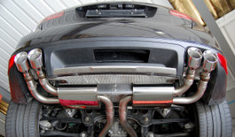 Milltek Resonated Cat-Back, Cup Style Exhaust for 2010+ Porsche Cayenne 958 Turbo 4.8 V8 (SSXPO111)
