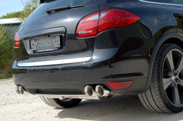 Milltek Cup Style Exhaust Tips for 2010+ Porsche Cayenne 958 Turbo 4.8 V8