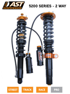 AST Supsension 5100 Series Coilover kit for BMW 3 series - E46 (ACU-B1106S)