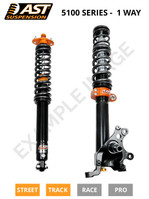 AST Suspension 5100 Series Coilover Kit for Porsche 911 996 Turbo (4WD), w/ Solid Front Top Mounts