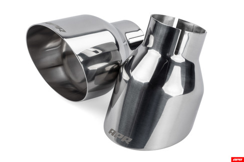 """APR 4"""" Polished Silver Single-Walled Tips (TPK0004)"""