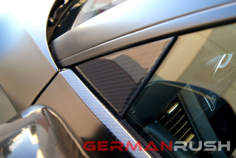 German Rush Carbon Fiber Door Triangles for Audi R8 2007-14 (GR8CFDCT0714). Left and Right sides