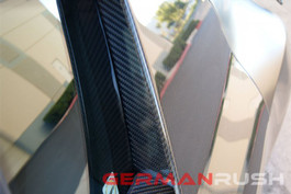German Rush Carbon Fiber Door Trim Blades for Audi R8 2007-13 (GR8CFDTB0714)