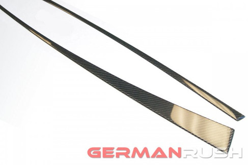 German Rush Carbon Fiber Front Door Trim Replacement Audi R8 2007-14 (GR8CFDTFR0714)