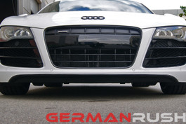 German Rush Paintable Fiber Glass Front Splitter for Audi R8 2007-15 (GR8WFS0713)