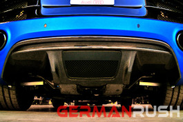 German Rush V10 Style Carbon Fiber Rear Diffuser for Audi R8 2009-12 (GR8CFRDF1013)