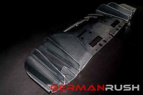 German Rush Carbon Fiber V10 Style Rear Diffuser Face Lift for Audi R8 2013-15 (GR8CFRDFFL1415)