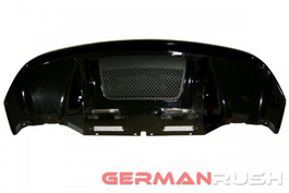 German Rush Paintable Fiber Glass V10 Style Rear Diffuser for Audi R8 2009-12