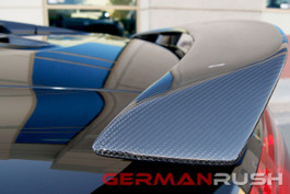 German Rush Carbon Fiber GT Spyder Style Wing for Audi R8 2009-15