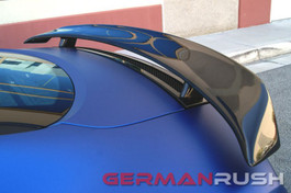 German Rush Carbon Fiber GT Style Wing for Audi R8 2007-13