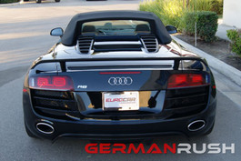 German Rush Paintable Fiber Glass Spyder GT Style Wind Deflectorfor Audi R8 2009-15 (GR8GTSWNG0714)