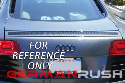 German Rush Paintable Fiber Glass Sypder Wind Deflector for Audi R8 2009-15 (GR8SWDEF0713)