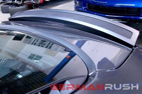 German Rush Paintable Fiber Glass Wind Deflector for Audi R8 2007-15 (GR8WDEF0713)