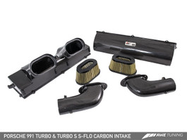 AWE S-FLO Carbon Intake for Porsche 991 Turbo and Turbo S (2660-13040)