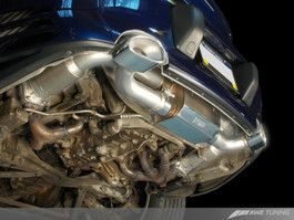 AWE Performance Exhaust with 200 cell cats for Porsche 996TT / GT2 (3010-11052)