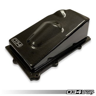 034 CARBON FIBER CLOSED-TOP UPPER AIRBOX AUDI TT RS & RS3 2.5 TFSI EVO (034-108-Z033)