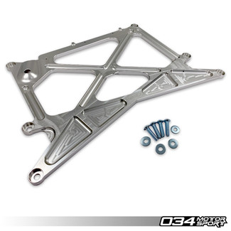 034MOTORSPORT RHD X-BRACE BILLET ALUMINUM CHASSIS REINFORCEMENT for B8.5 AUDI A4/S4/RS4, A5/S5/RS5, Q5/SQ5 (034-603-0016)
