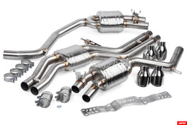 APR Catback Exhaust with Center Muffler for Audi S6 & S7 4.0 TFSI C7 / C7.5 (CBK0011)
