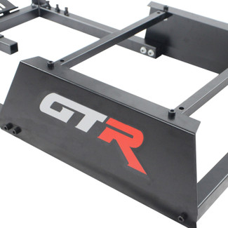 GTR Simulator - GTA Model Without Racing Seat, Frame ONLY Driving Simulator Cockpit Gaming Frame with Gear Shifter Mount (GTA)