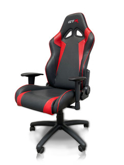 GTR Large Size Big and Tall Computer/Gaming High-back, Ergonomic Leatherette Racing Chair (OC105L)