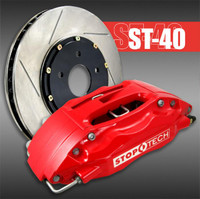 Stoptech ST40 4 Piston Front Brake Kit, 355mm for TT Quattro 1.8T